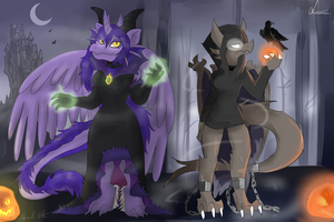 Night of the Dragonesses by LuciaRayadra