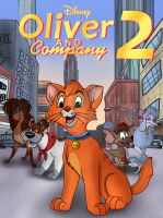 Oliver and Company 2 by JustSomePainter11