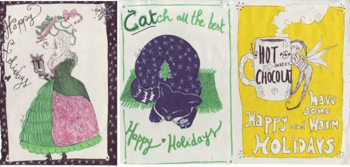 Holiday Card Project 2016 by NerinaSam