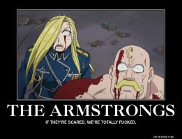 Anime Demotivational: Armstrongs by Hatsodoom
