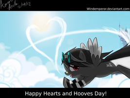Rain Cloud Happy Hearts and Hooves by WindEmperor