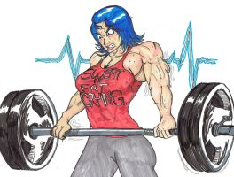 Trish: Deadlift 'Till I'm Dead by AmateurUnleaded