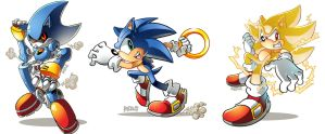 Sonic x 3 by herms85