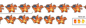 Charizard MLbis BTL sprites by tebited15
