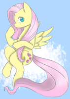 Fluttershy by invadersharie