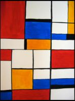 Abstract Class-Mondrian by VaughanFawn