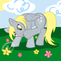Derpy Itch by sterlingsilver