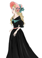 actual Disney princess Cosette Fauchelevant by imjusthereforref