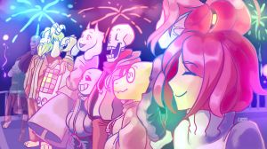 Happy 2017!! by SylveonChan