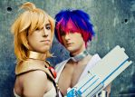 Keeping Secrets: Panty and Stocking cosplay by Detailed-Illusion