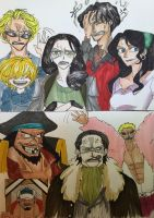One Piece: The Descendants AU - Face-chatting by nmaki98