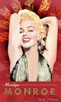 Marilyn Monroe as Lorelei Lee by eyeqandy