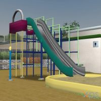 Community Playground (MMD Convert) by KoDraCan