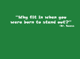 Dr. Seuss Quote I by Silver-Noctis