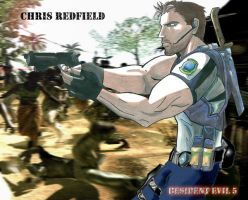 Chris Redfield by Zejeck