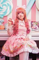 Sweet lolita - I want some tea by nyaomeimei