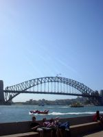 Sydney Harbour Bridge by dannishez