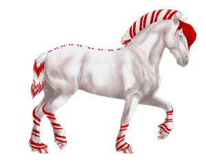 1098 Miss Candy Cane by Crimson-Forest-Farm