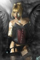Angel of Death by NestorTomaselliArt