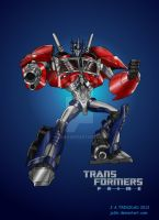 TF Prime Optimus Prime by ja3ni