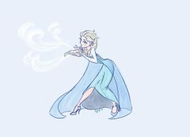 Elsa by littleredlynx