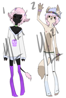 Pastel Uke Anthro Adopts! [CLOSED] by Dr-Lawliette