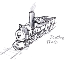 NoR: Scathen Train by IrateResearchers