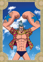 Franky - One Piece by xxJo-11xx