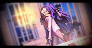 |MMD|FE:F|CorrinXCamilla| Camilla's Birthday Kiss by UniTheNep