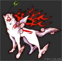 Ammy and Issun by zeldyn