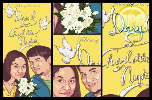 Daryl and Charloote Nuptial by leafar18