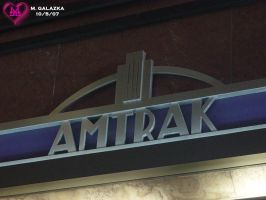 Amtrak in Art Deco by CytoToxicBlade