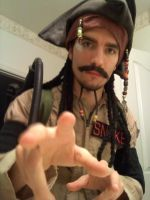 Ghostbuster Jack Sparrow by wwfjph