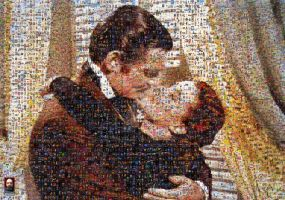 Gone With the Wind Photomosaic by DolfD