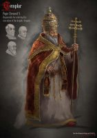 Pope Character by Archon0419