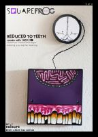 Reduced to TEETH: set1 02 purple by SquareFrogDesigns