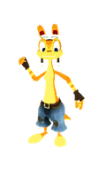 Daxter the Ottsel Pants (MMD) by 9029561
