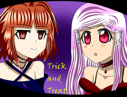 Trick and treat by akura7