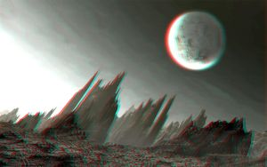 Moonscape 3-D conversion by MVRamsey