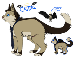 Sheet - Castiel 2014 by Kariotic