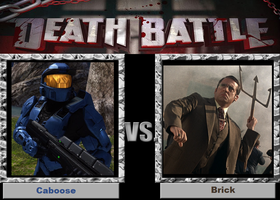 Death Battle-(Fan)-Caboose vs. Brick! by XPvtCabooseX