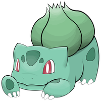 001 Bulbasaur by mondecolore