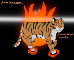 tiger of fire by krxterme