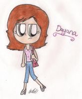 New OC: Dayana by Number1MarioFan247