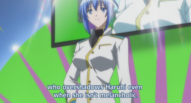 Haruhi reference in Kampfer by AstyanaxAstinia