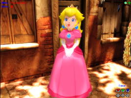 MMD PRINCESS PEACH by AmaneHatsura