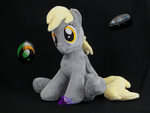 Derpy Hooves CSV1 Glow-in-the-Dark by kiashone