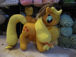 Applejack Redo by NerdyKnitterDesigns