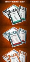 Floppy Business Card by Slam85