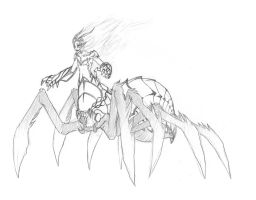 Arachnid Sketch by Dx33x